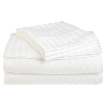- Superior 1500 Stripe Microfiber Sheet Set