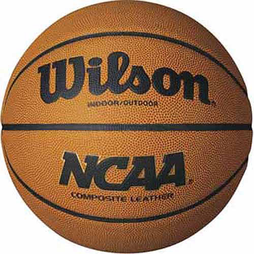 Wilson NCAA Composite Official Basketball by Generic