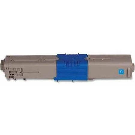 Genuine Okidata Cyan Drum - Universal Inkjet Premium Compatible Okidata 44469703/Type C17 Cartridge, Cyan
