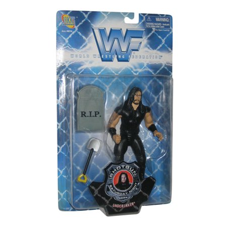 WWF Shotgun Saturday Night 1998 Undertaker Wrestling WWE Action Figure](Toy Shotgun)