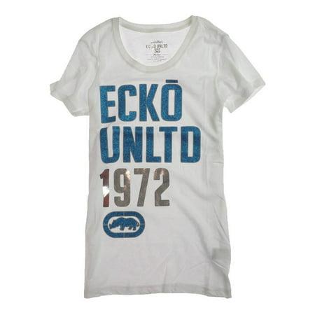 Ecko Unltd. Womens 1972 Crw Nk Graphic T-Shirt