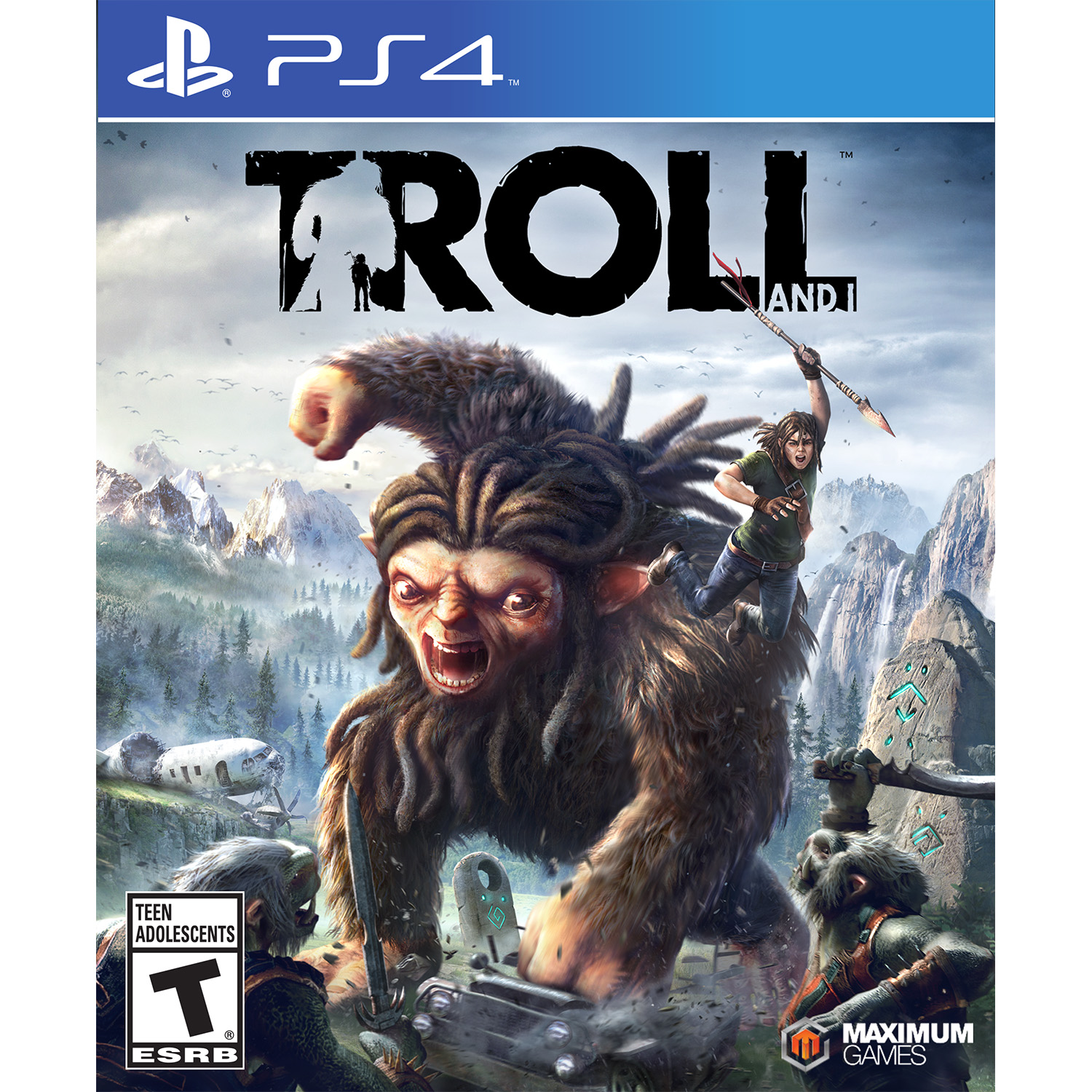 MAXIMUM GAMES Troll and I - Preowned (PS4)