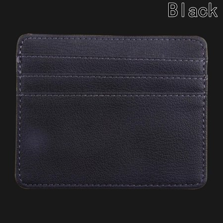 Fancyleo Card Holder PU Slim Bank Credit Card ID Holder Case Bag Wallet Colorful (Citi Bank Best Credit Card)