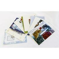 Canvas Print Christmas Postcards Envelopes Christmas Letters Stretched Canvas 10 x 14