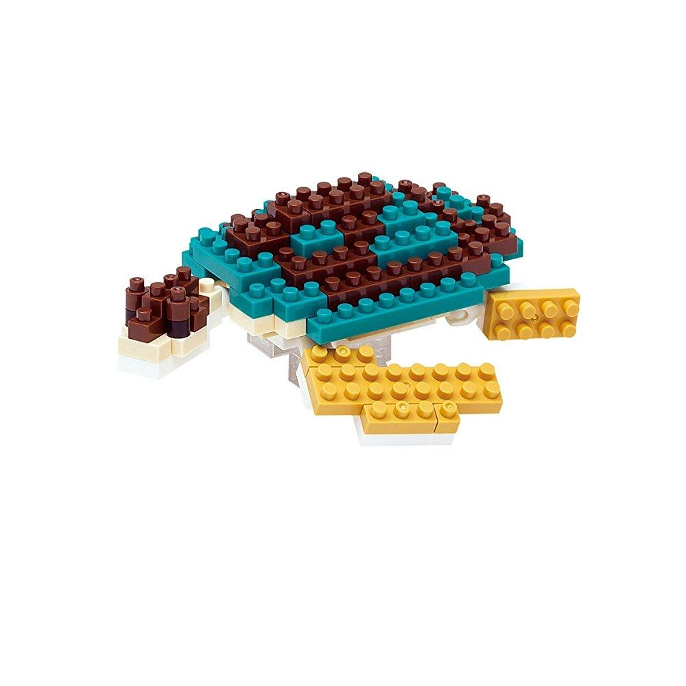 Nanoblock nbc-081 green sea turtle (japan import) by