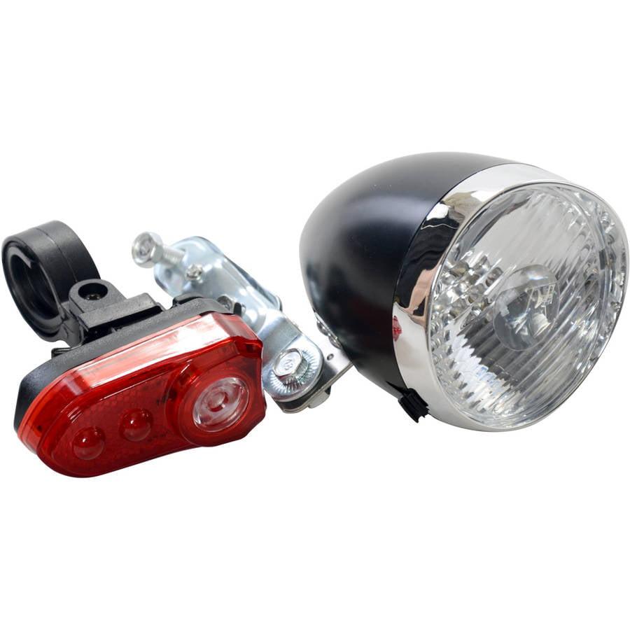 Classic200Lm Led Vintage Bike Headlight Bicycle Retro Head Light Front Fog La Pn