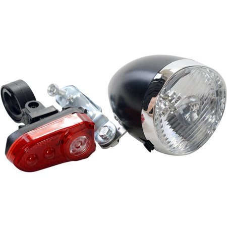 Ocean City Cruisers Vintage Head Light/Tail Light Set (Cruiser Hd Light)