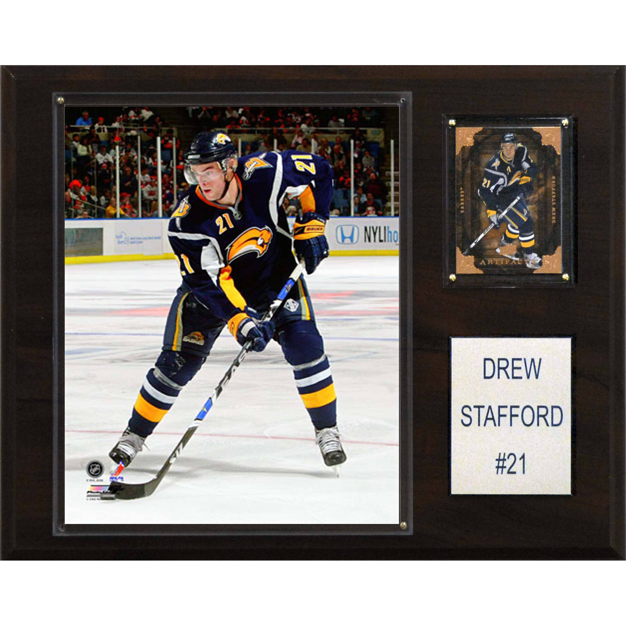 C&I Collectables NHL 12x15 Drew Stafford Buffalo Sabres Player Plaque