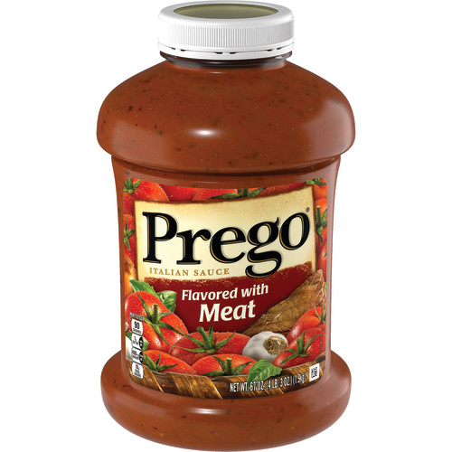 Prego Italian Sauce Flavored with Meat Sauce, 67 oz.
