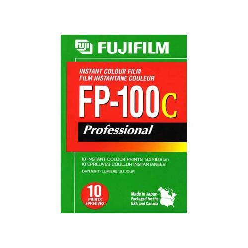 FP-100C Instant Color Film Sheet