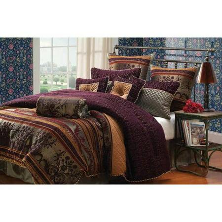 riverbrook home petra 9 piece bedding comforter set. Black Bedroom Furniture Sets. Home Design Ideas
