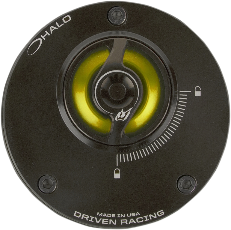 Driven Racing Halo Fuel Cap Stainless   DHFCS