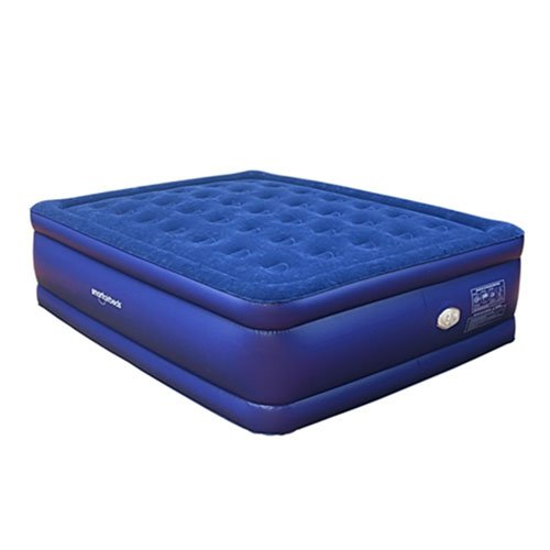 Smart Air Beds BD-1224GT Raised Deluxe Coil Beam Flock To...