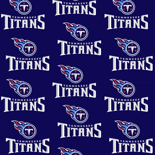 NFL Tennessee Titans Cotton Fabric