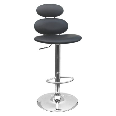 Awe Inspiring Best Master Furniture Tufted Vinyl Adjustable Height Bar Stool Black Or White Unemploymentrelief Wooden Chair Designs For Living Room Unemploymentrelieforg
