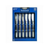 Daily Chef Stainless Steel Dinner Knives Set, 36 Pc