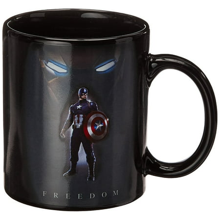 Mug - Marvel - Captain America Civil War Stand Cup Heat Chnage  New cmgc-cw-tcfd
