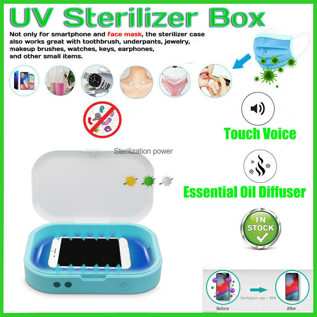 Mobile Phone Masks UV Sterilizer Multifunctional ...