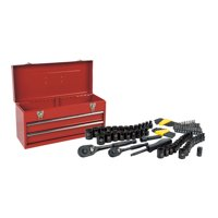 Stanley STMT81564 101-Piece Universal Mechanics Tool Set with Metal Tool Box