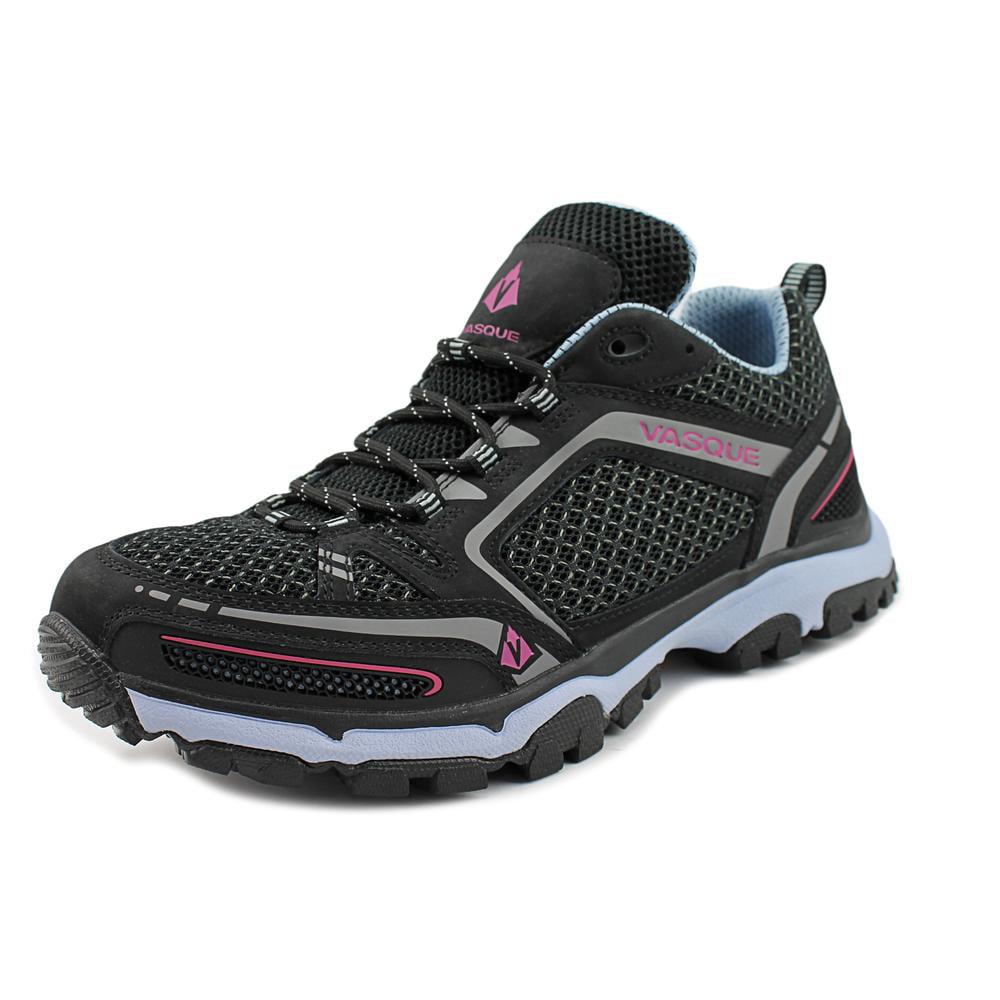 Vasque Inhaler II Low Women Round Toe Synthetic Black Hiking Shoe by Vasque