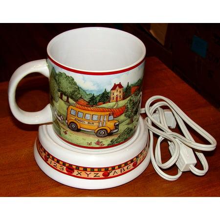 Susan Winget School Days Mug and Mug Warmer