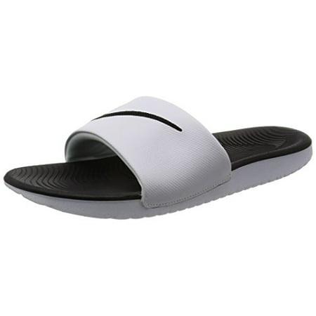 cc0a4ac6be Nike Whiteblack Kid M 3 Little Kawa Us Kids  Slide Sandal raxgrPq