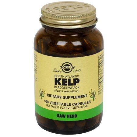 Solgar North Atlantic Kelp Vegetable Capsules, 100 Ct, 2
