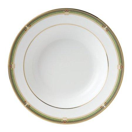"Wedgwood OBERON RIM SOUP PLATE BORDER 8"""