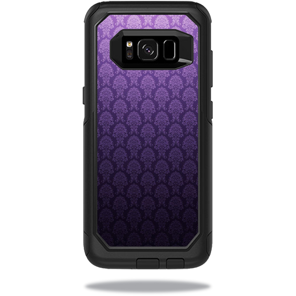 MightySkins Protective Vinyl Skin Decal for OtterBox CommuterSamsung Galaxy S8 Case sticker wrap cover sticker skins Antique Purple