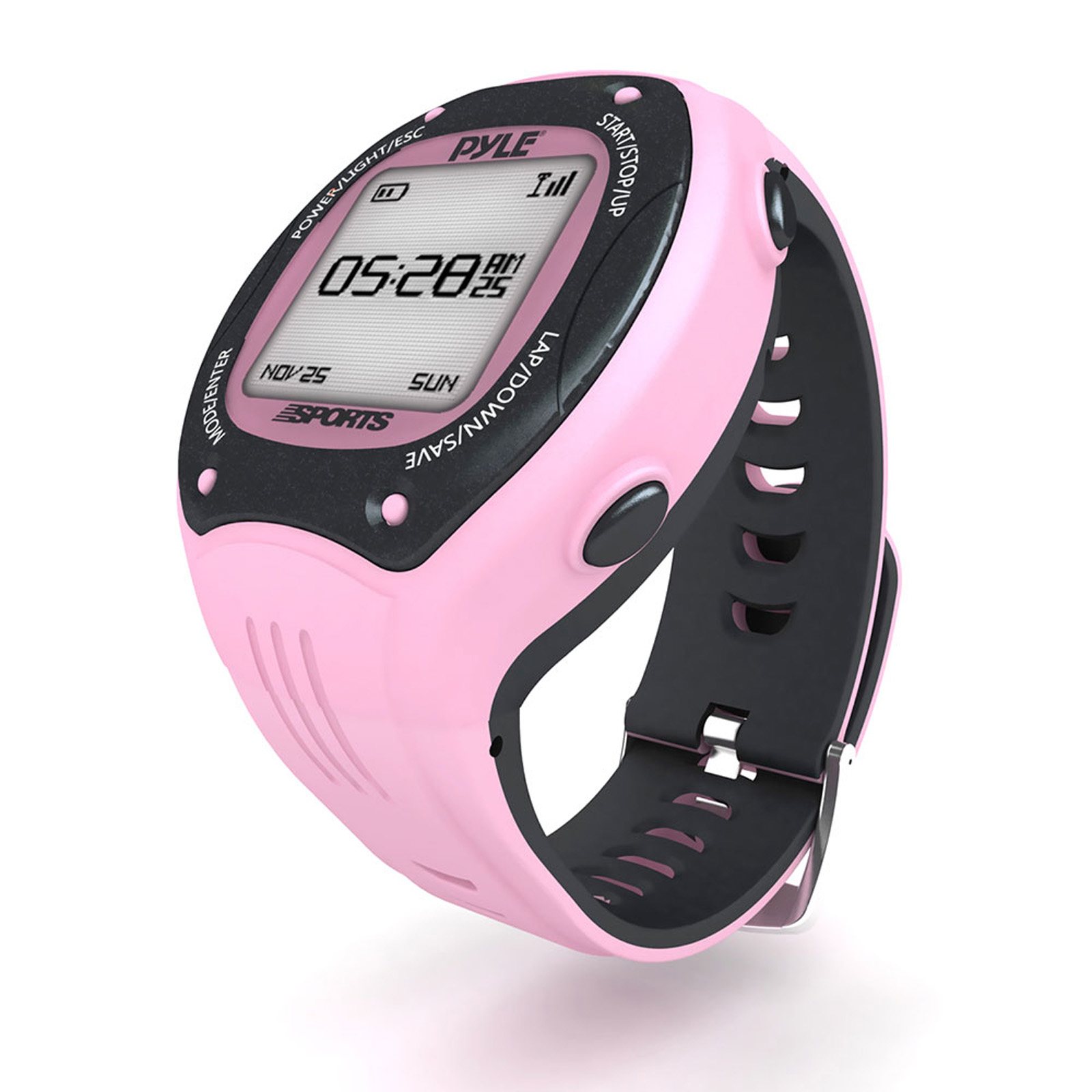 Pyle Sports Multi-Function LED Sports Training Watch with...