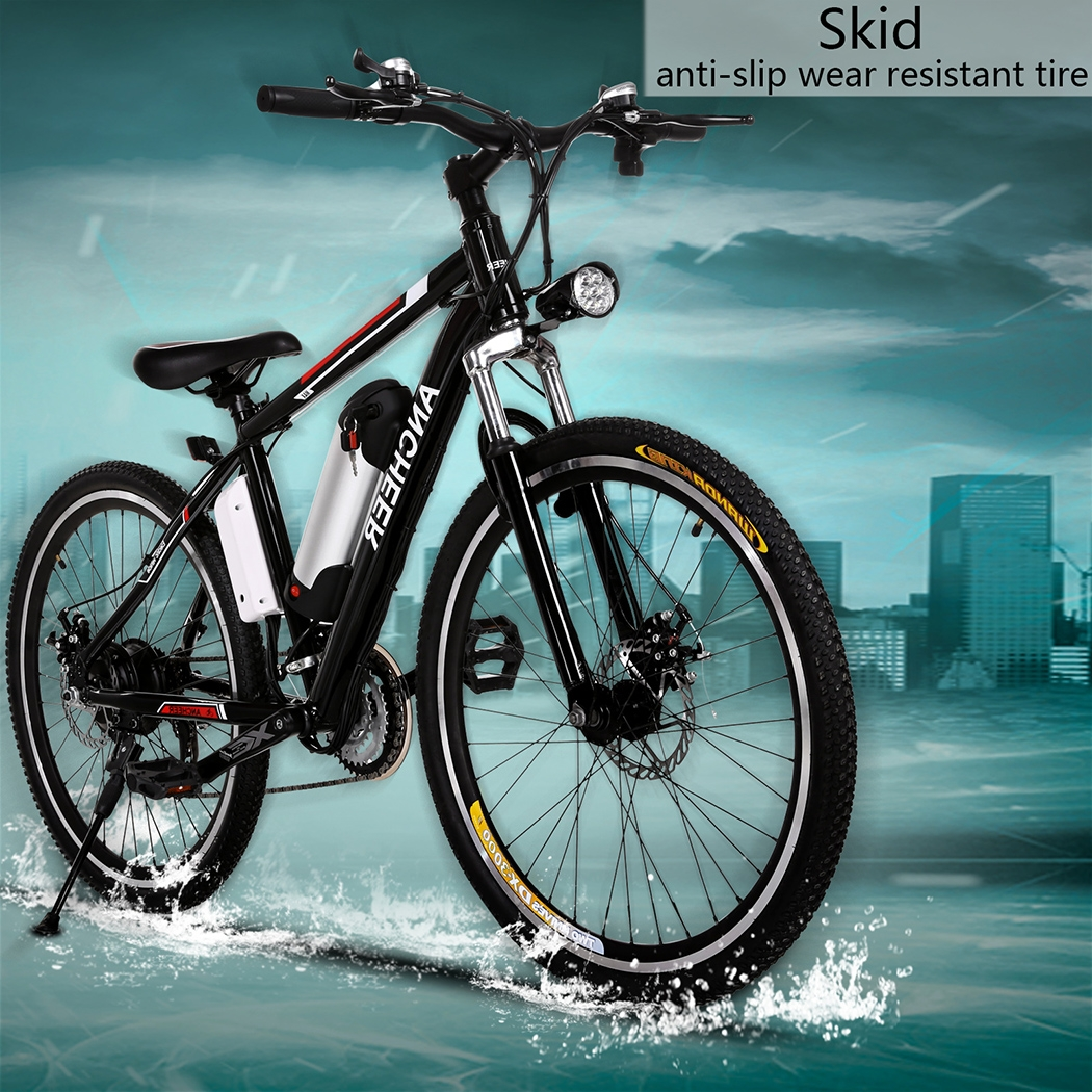 New Mountain Bike Power Plus Electric Mountain Bike with Lithium-Ion Battery BYE