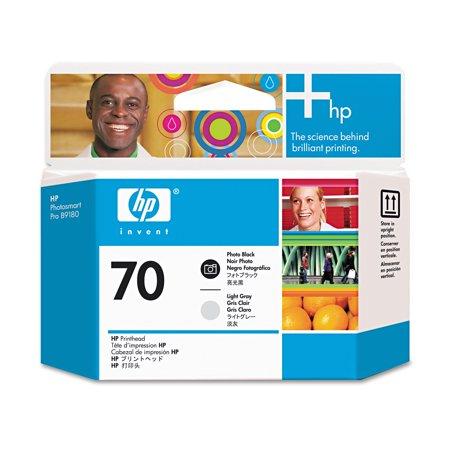 HP HP 70, (C9407A) Photo Black/Light Gray Printhead
