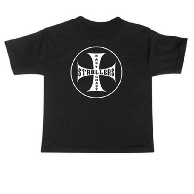 Rebel Ink Baby 338tt5T East Coast Strollers - 5T - Toddler Tee Shirt