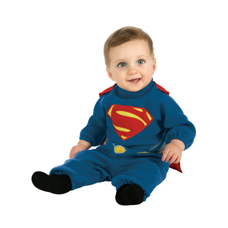 Infant Superman EZ-ON Romber Costume by Rubies 886888 - Infant Superman Costume