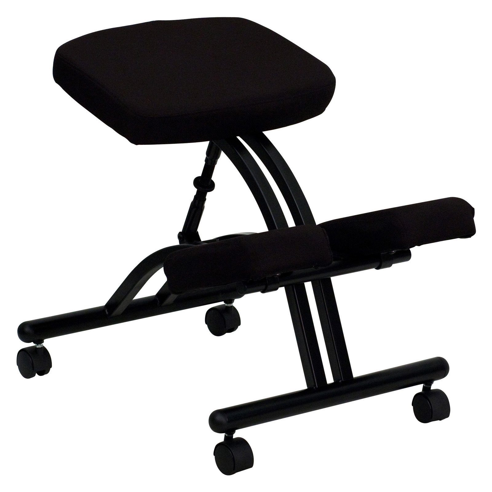 Steel Frame Ergonomic Kneeling Posture fice Chair Black Walmart