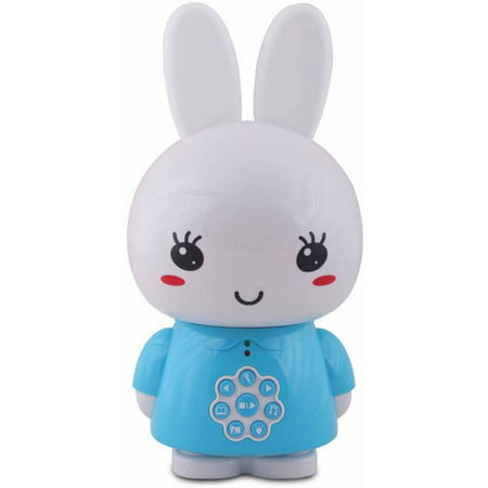 Image of Alilo Honey Bunny with Music and Story Playing Capabilities 4 GB Micro SD Card, Blue