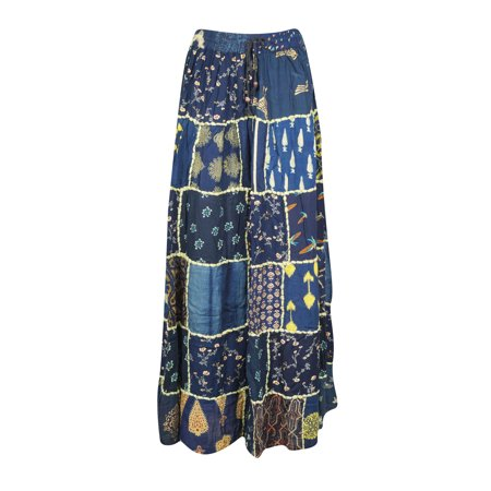 c82fcceee Mogul Women's Patchwork Vintage Long Skirt Rayon Indian Dori Maxi Skirts.  Average rating:0out of5stars, based on0reviewsWrite a review. Mogul Interior.  This ...