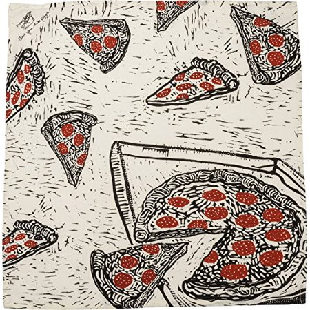 Real Brooklyn Pizza (Primitive by Kathy Kitchen Towel - Pizza )