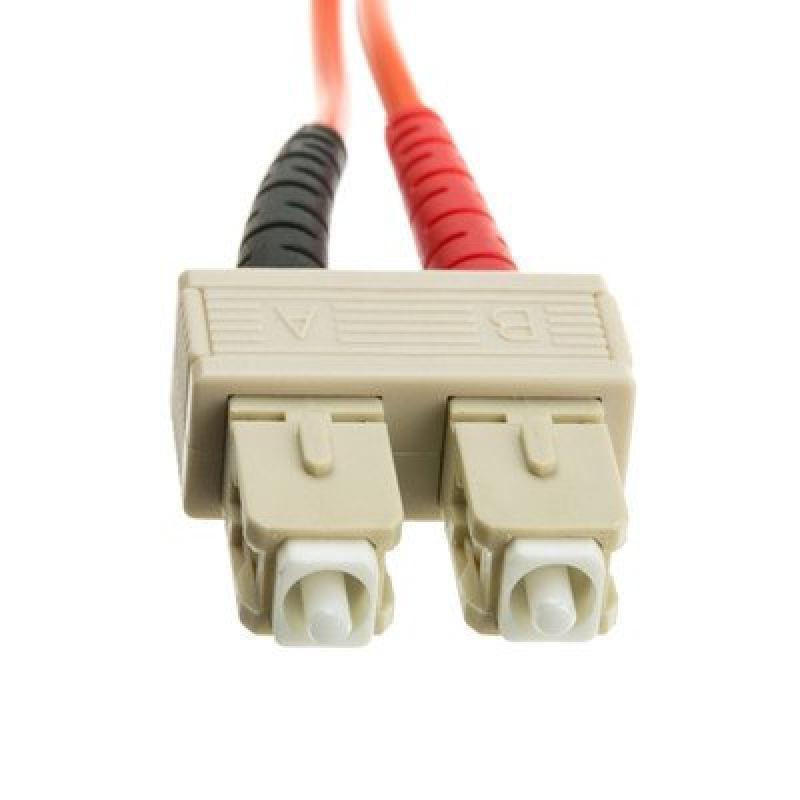 SC/SC Multimode Duplex Fiber Optic Cable, 50/125, 10 meter ( 2 PACK ) BY NETCNA