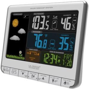 La Crosse Technology 308-1412S Color LCD Wireless Weather Station by La Crosse Technology Ltd.
