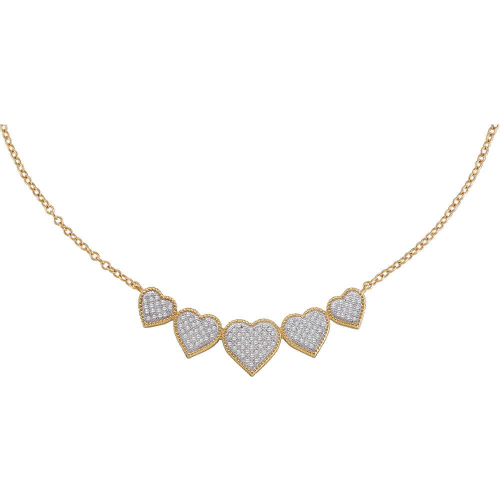 0.35ctw Diamond Heart Necklace by GD