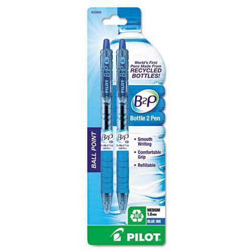 Pilot B2P Recycled Bottle 2 Pen Ballpoint Pens -PIL32806
