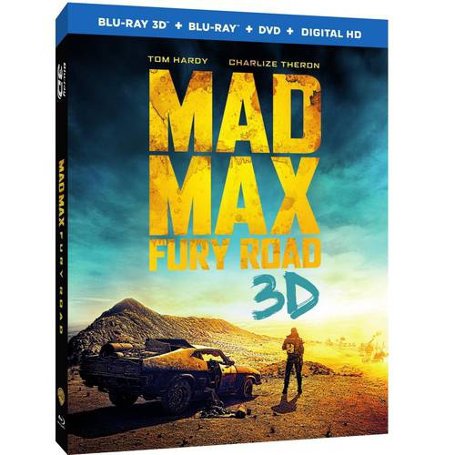 Mad Max: Fury Road (3D Blu-ray + Blu-ray + DVD + Digital HD With UltraViolet) (With INSTAWATCH) (Widescreen)