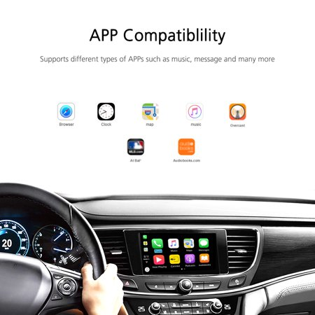 Car Android Stereo Smart Assistant CarPlay Module Dongle Adapter USB