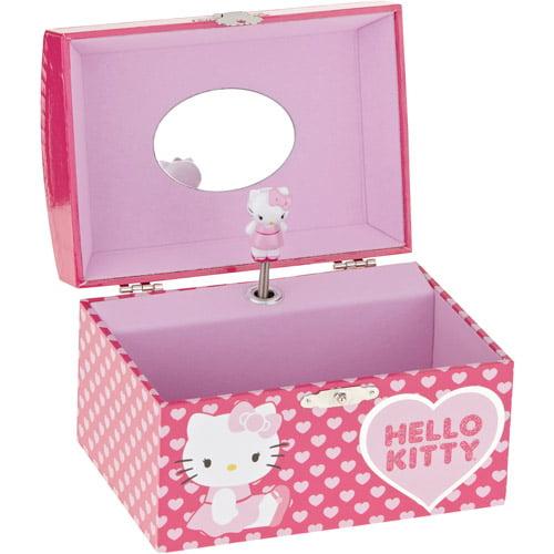 Hello Kitty Musical Jewelry Box Walmartcom