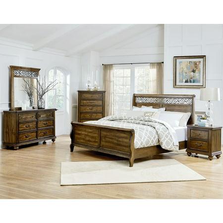 Victorian Bedroom Suite - Cambridge Flemington 5-Piece Queen-Size Bedroom Suite