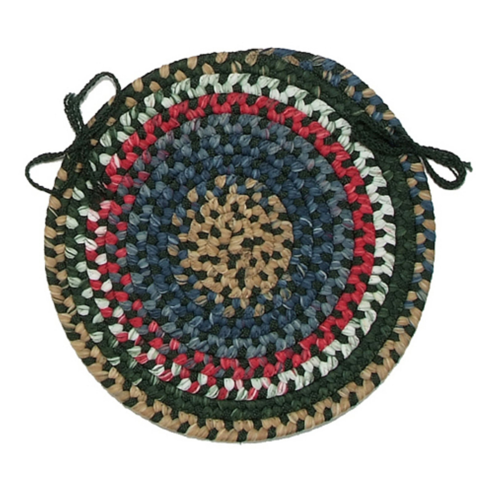 Colonial Mills Chestnut Knoll 15 in. Round Chair Pad by Chestnut Knoll