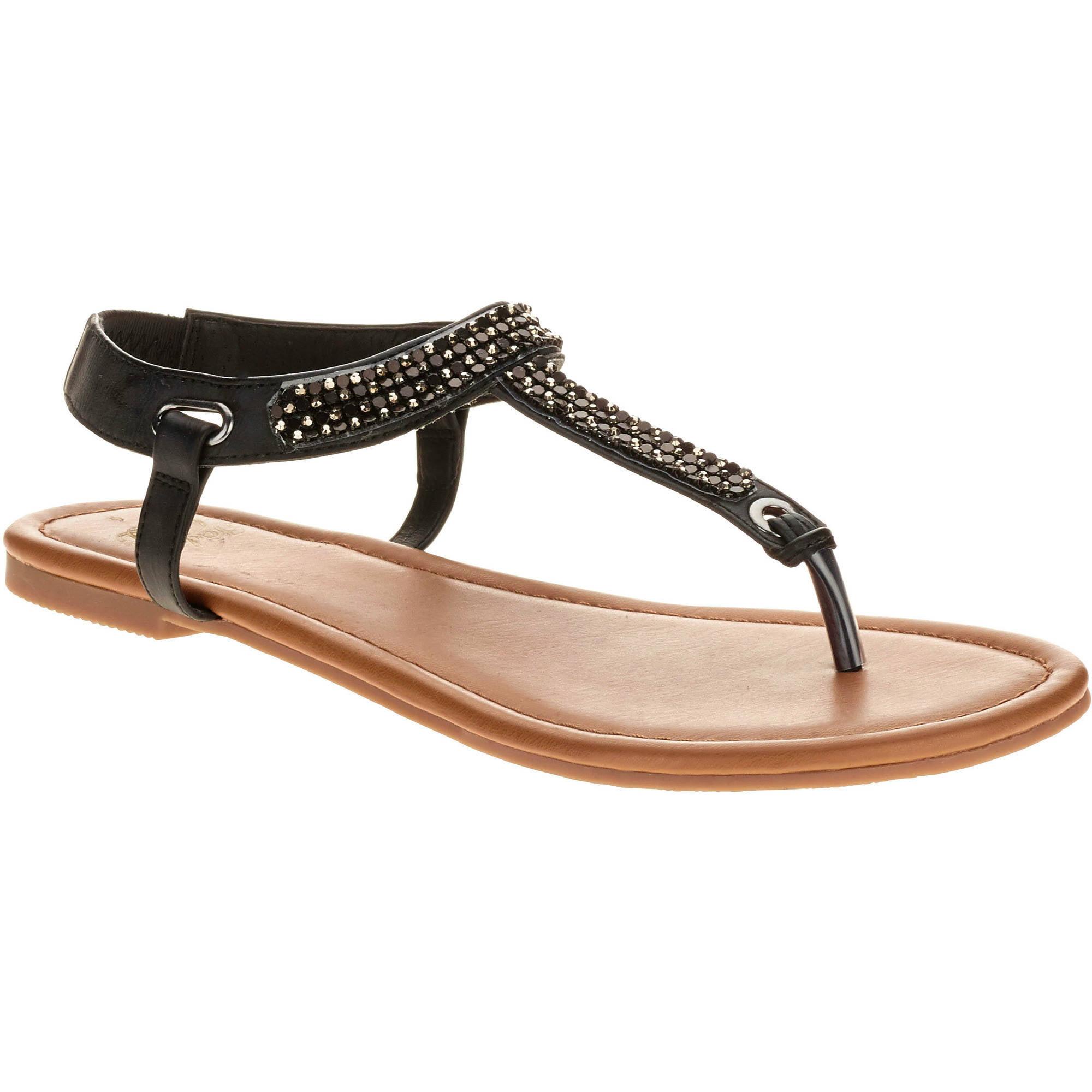 Faded Glory Women's Jewel Thong Sandal