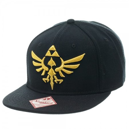62b7ca8bd Legend of Zelda Triforce Snapback Hat