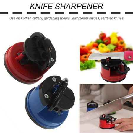 HC-TOP Knife Sharpener Scissors Grinder Secure Suction Chef Kitchen Sharpening Tool - image 6 de 6